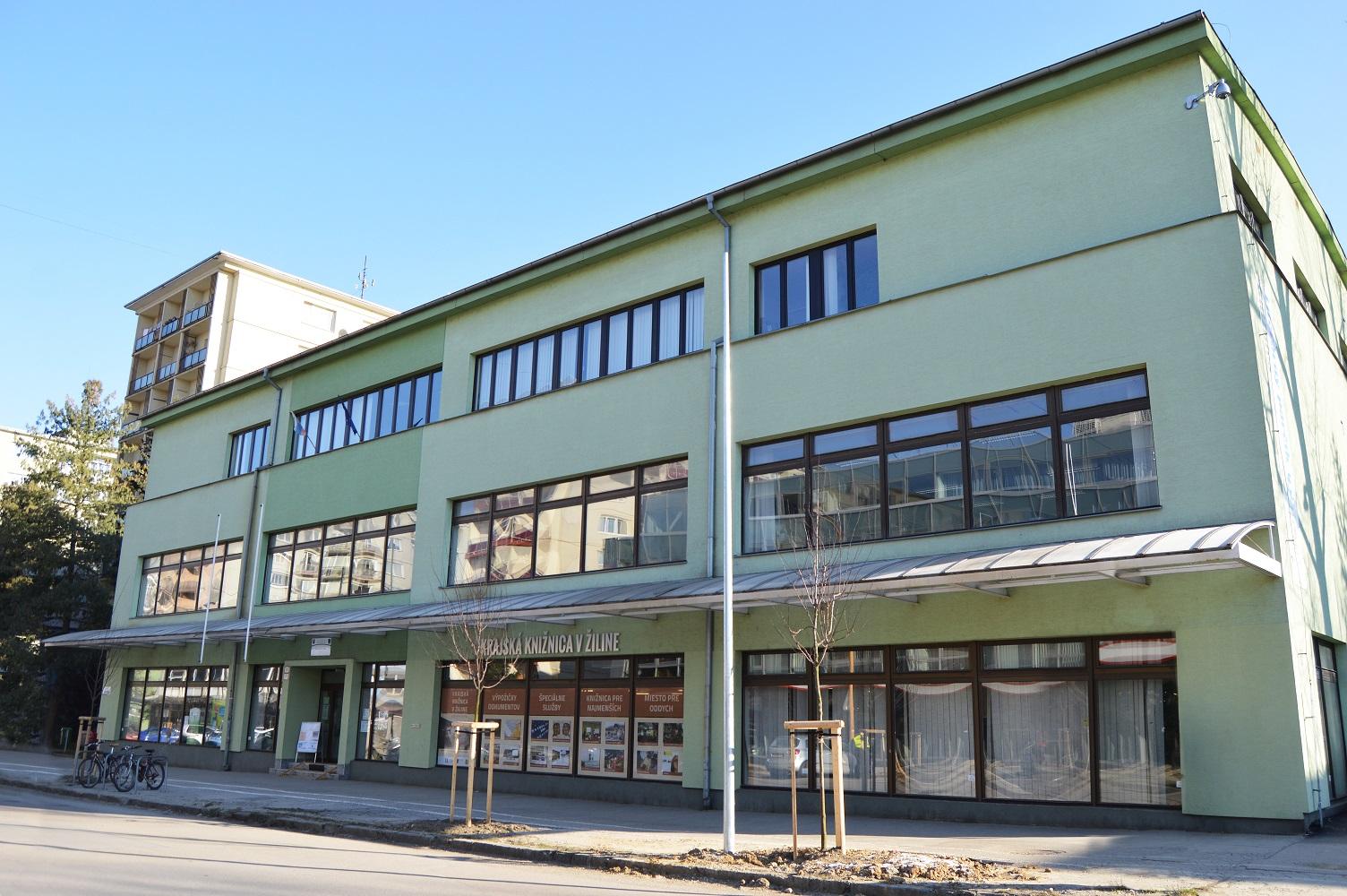 Krajská knižnica v Žiline - centrálna budova