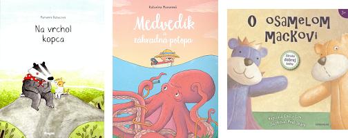 3 detské knihy