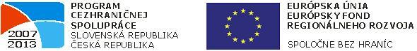 Spoločne bez hraníc - logo projektu