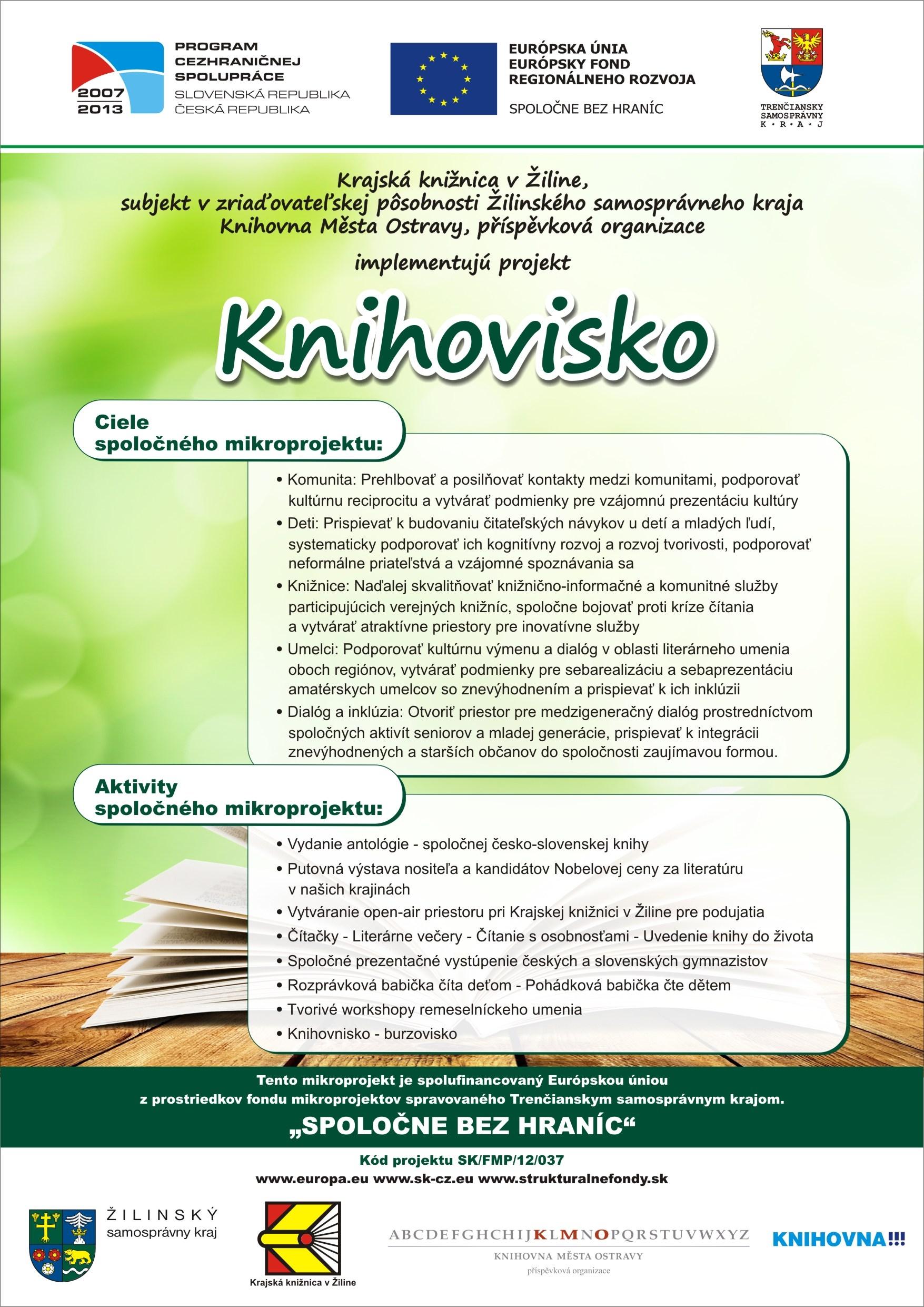 Knihovisko - plagát