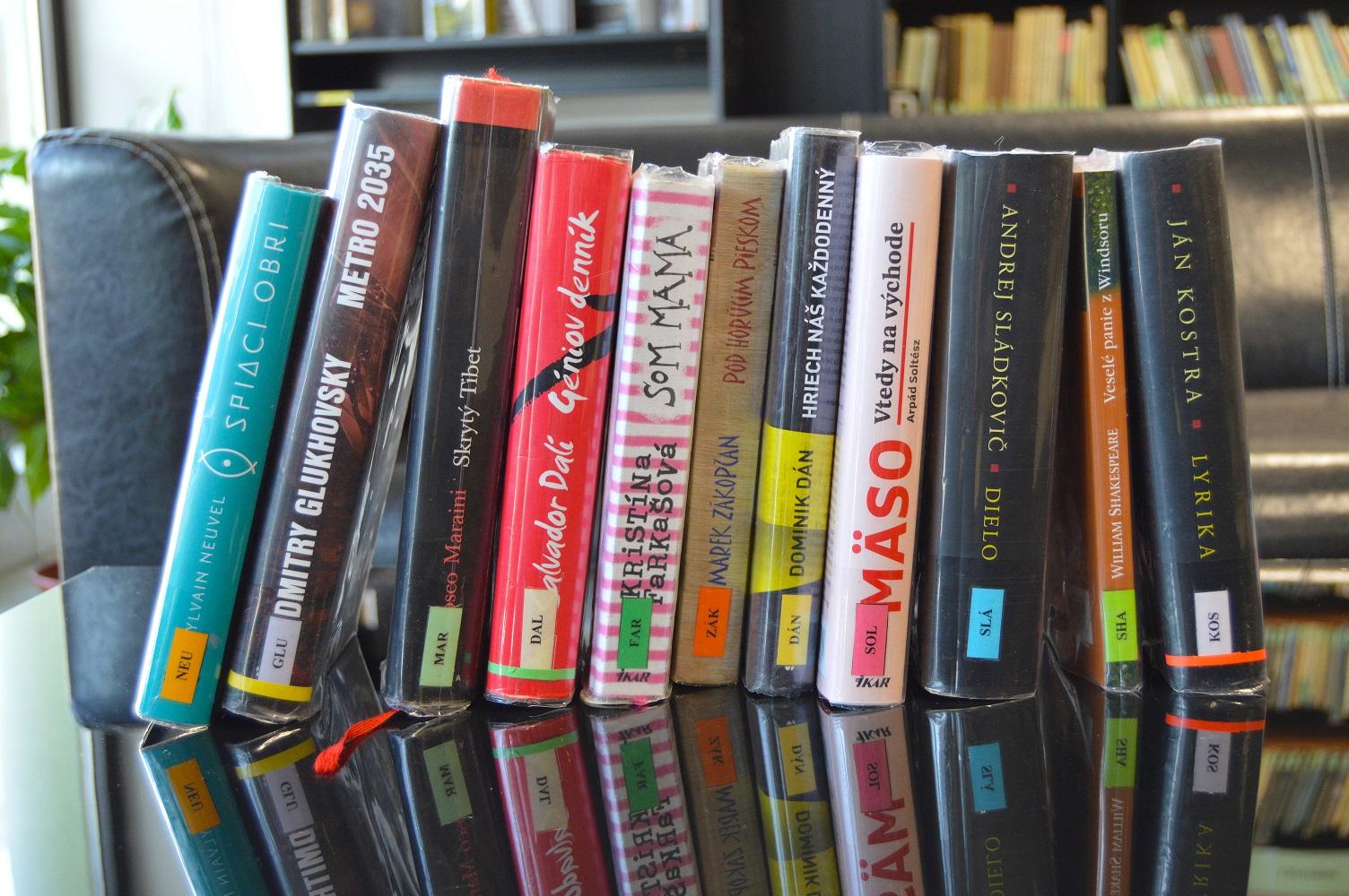 knihy - beletria