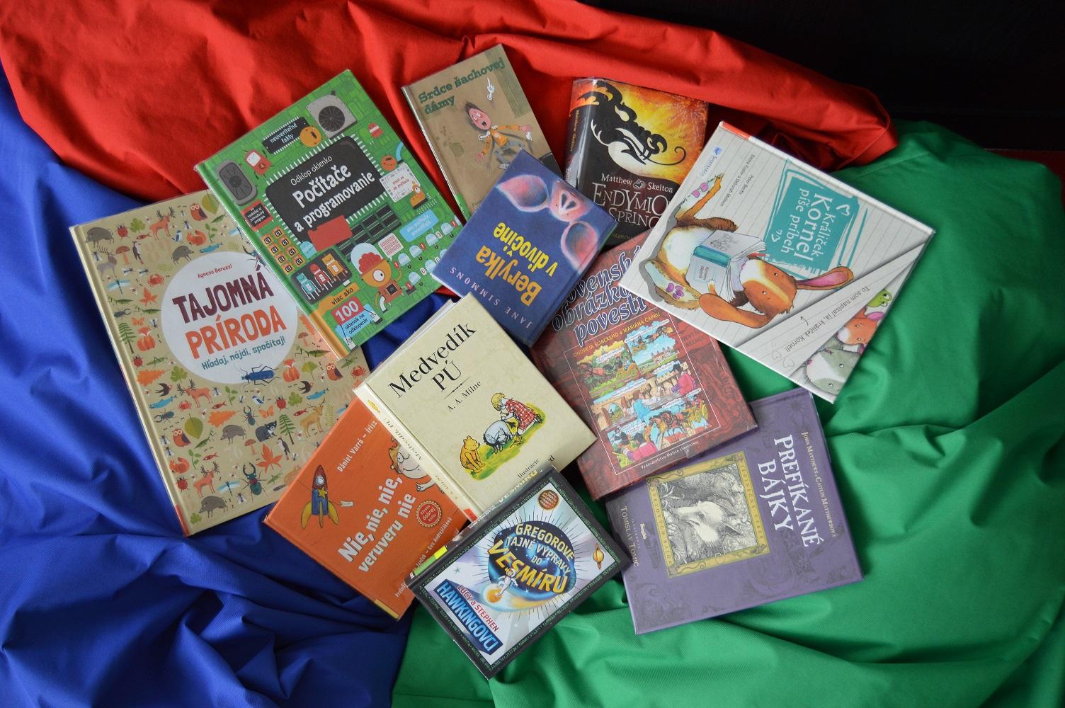 knihy - detské oddelenie