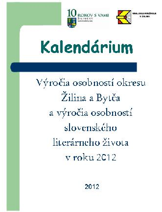 kalendarium 2012